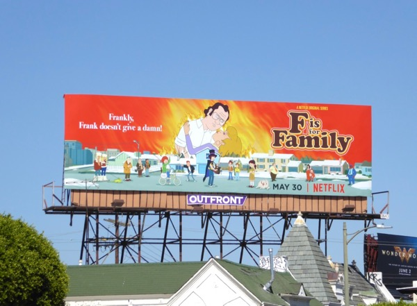 F is for Family 2 Netflix billboard