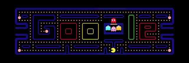 Pacman Game Google