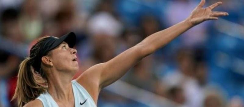 網球:莎拉波娃獲勝在辛辛那提進行巴蒂之戰