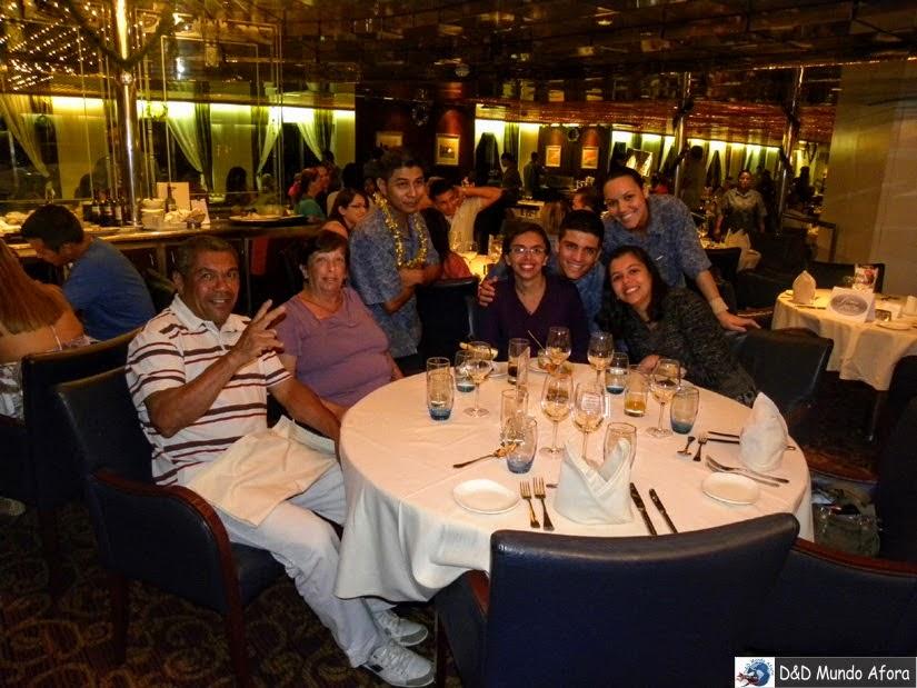 Restaurante do navio - Cruzeiros marítimos: tudo sobre viagem de navio