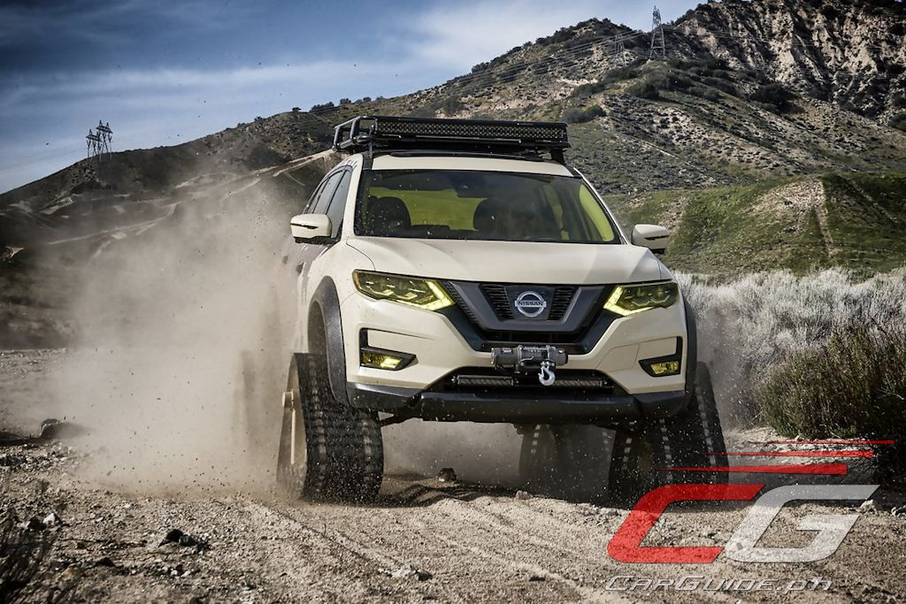 nissan rogue x trail warrior trail project is capable of extreme adventure w photos video. Black Bedroom Furniture Sets. Home Design Ideas