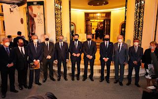 El Centenario de la Agrupación de Cofradías inicia su camino promocional en Andalucía