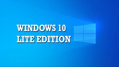 Windows 10 Ringan (Versi Lite)