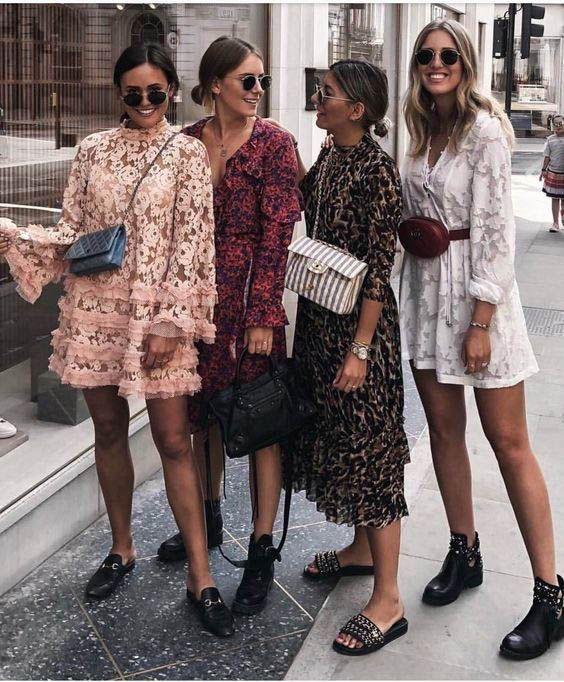 Jak nosić sukienke wiosnà - czyli ponad casualowych 26 stylizac
