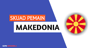 daftar susunan nama pemain timnas Makedonia Utara terbaru