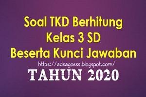 Download Soal Berhitung Tes Kemampuan Dasar (TKD) Tahun 2020