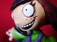 orme magiche celesta il bambino dei moschini modellini statuette sculture action figure personalizzate fatta a mano super sculpey