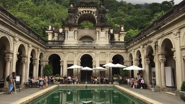 Parque Lage en Río de Janeiro