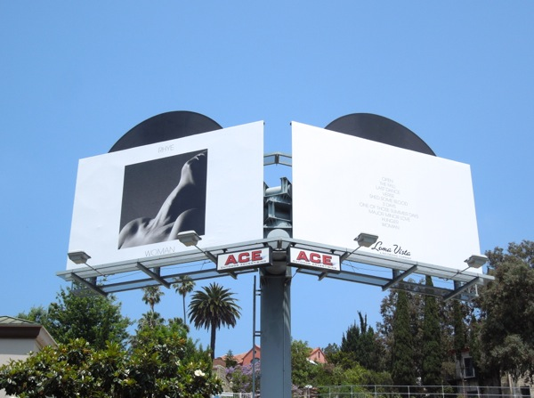 Rhye Woman album billboards