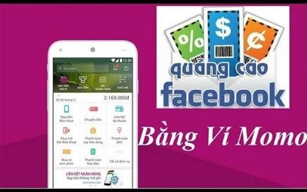 Chạy quảng cáo Facebook  bằng ví Momo
