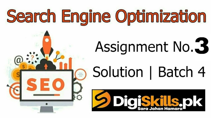 Digiskills SEO | Exercise No. 3 Solution | Batch 4 | SEO101 Exercise No. 3 Solution | Study Planet