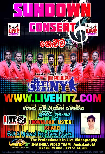 SUNDOWN CONSERT WITH HIKKADUWA SHINY LIVE IN NELUWA 2019-10-05