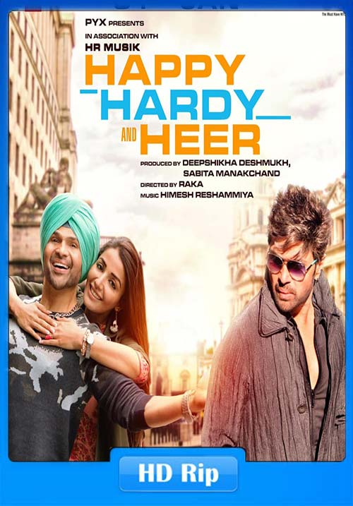 Happy Hardy And Heer 2020 Hindi PreDVD 720p x264 | 480p 300MB | 100MB HEVC