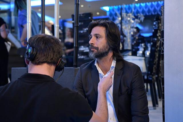 Imágenes del rodaje de 'Nasdrovia'