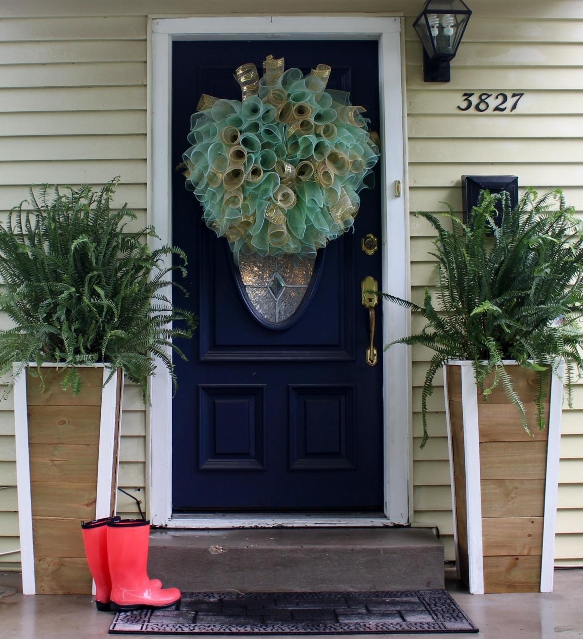 Nadia's DIY Projects: DIY Fern Planters