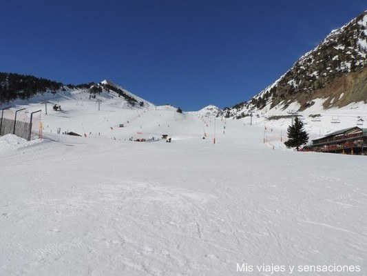 Estación de esquí Arinsal, Andorra