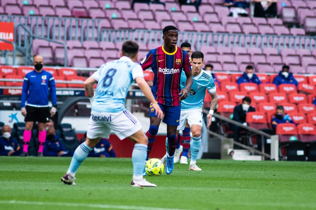 برشلونة ضد سيلتا فيجو