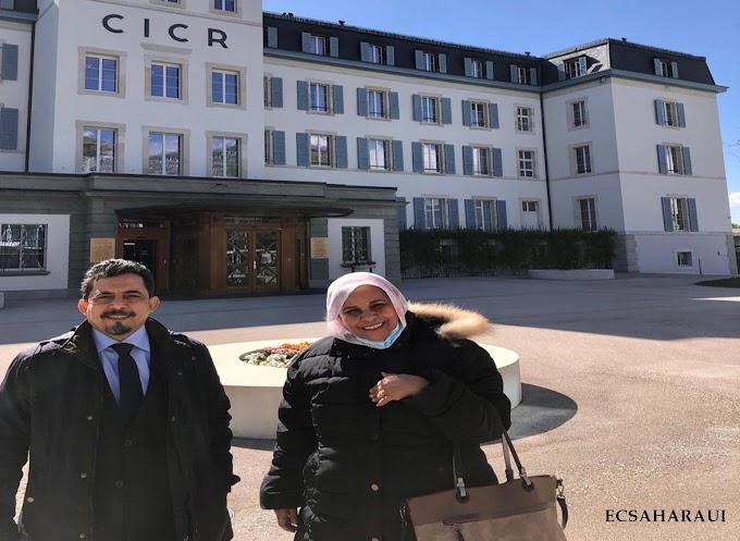 Una delegación saharaui se reunió con Cruz Roja Internacional en Ginebra para tratar la escalada de represión marroquí en los territorios ocupados del Sáhara Occidental.