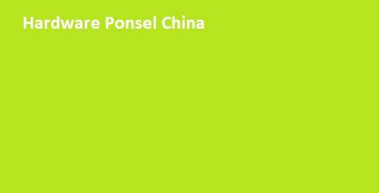 Hardware China Phone