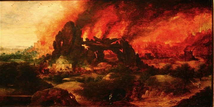 Kisah Nabi Luth dan Kehancuran Kaumnya oleh Bencana Hujan Batu