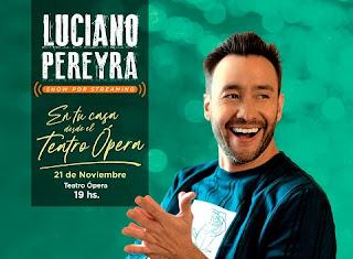 Concierto virtual de LUCIANO PEREYRA ¡Desde Argentina!