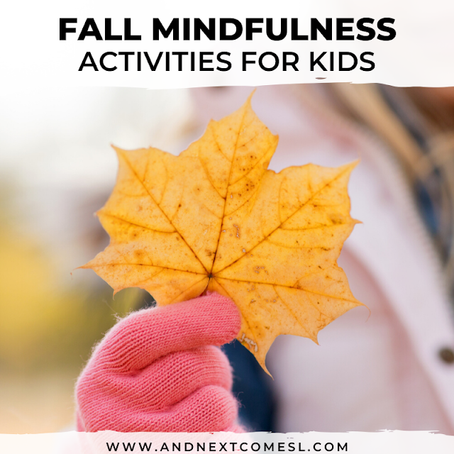Fall mindfulness activities