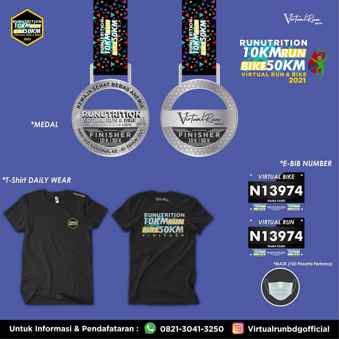 Medali 🏅 Nama_Lomba_Lari • 2021