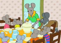 La familia de ratones