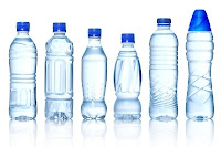 Image of mineral water bottles used in exercise