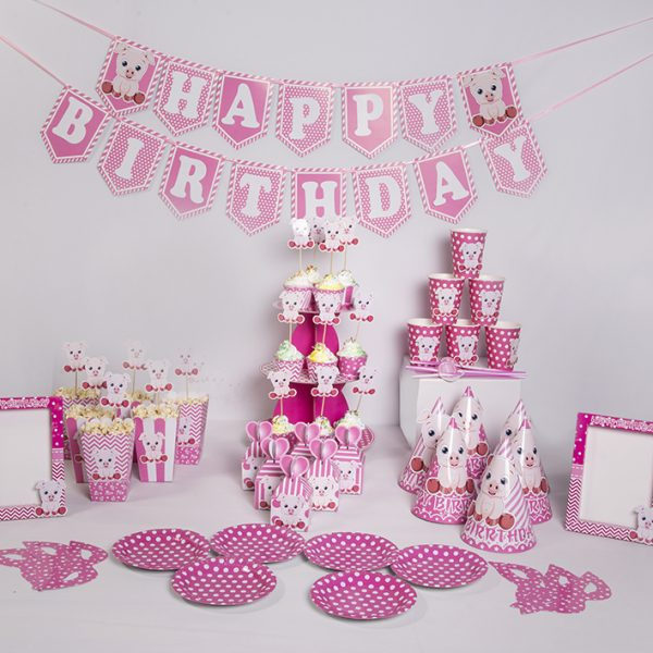 Phụ kiện trang trí thôi nôi sinh nhật