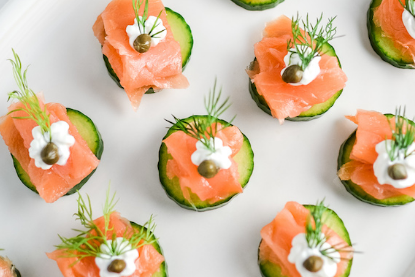 Elegant Healthy Smoked Salmon Appetizer