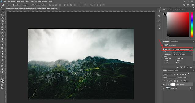 الأنماط اللونية داخل برنامج Adobe Photoshop