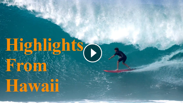 The Best Pro Surfers Highlights From Hawaii Jesse Little