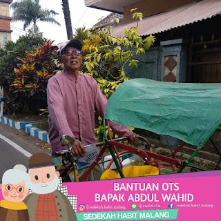Pak Abdul Wahid : Bantuan OTS