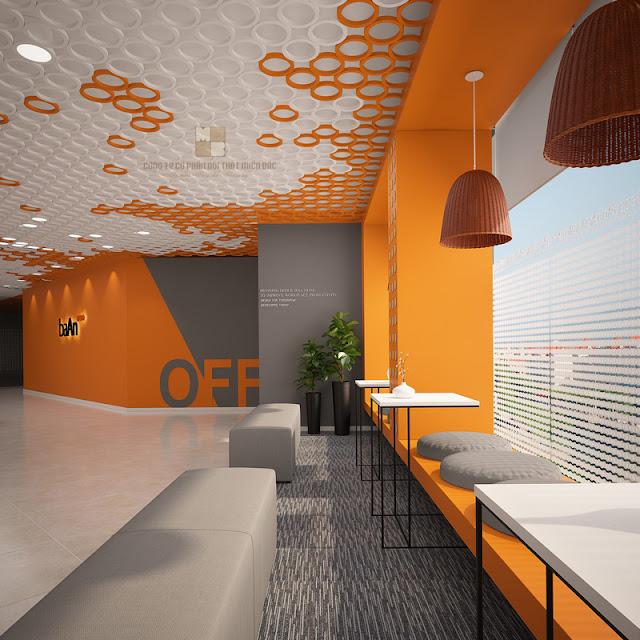 Văn phòng mới mẻ hiện đại