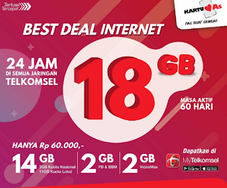 Cara Daftar Paket Best Deal Telkomsel #PastiBestDeal
