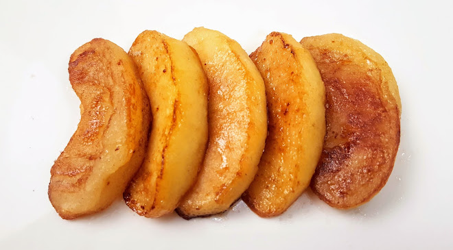 Pommes ou poires sautées au beurre