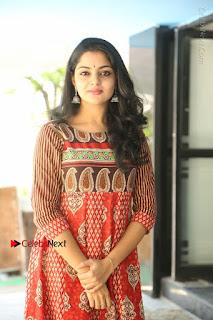 Telugu Actress Nikhila Vimal Latest Stills in Anarkali Dress  0177.JPG