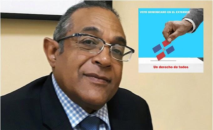 Vargas pide a  Abinader y Leonel  defender voto en el exterior y rechaza críticas contra Espaillat