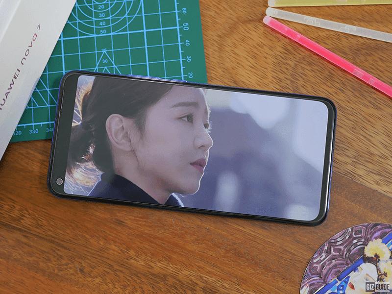 Crisp OLED screen