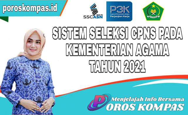 Sistem Seleksi CPNS Pada Kementerian Agama 2021