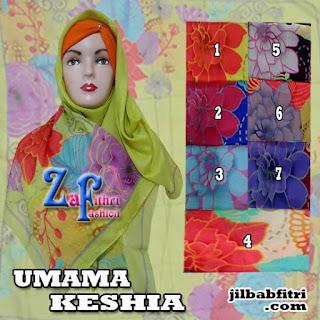 jilbab-segiempat-umama-keshia-motif-bunga