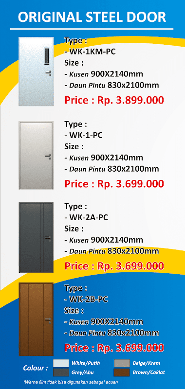 PROMO Steel Door WEKA Plus
