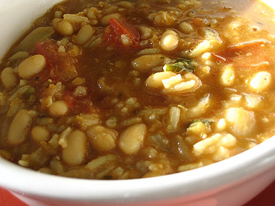Curried White Bean and Red Lentil Stew