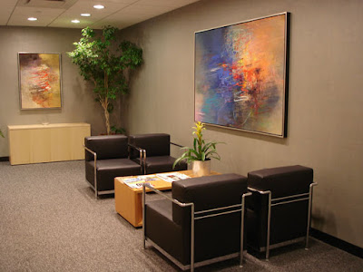 Office painting in New York City