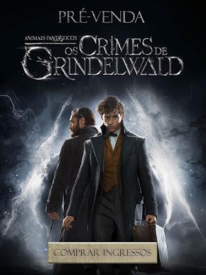 Os ingressos para o novo filme do Mundo Bruxo já estão à venda!