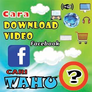 Cara mendownload video facebook tanpa menggunakan aplikasi dan menggunakan aplikasi