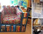 Easy DIY Idea To Make A Bookshelf ChairEasy