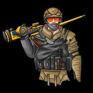 Commando Pubg Wallpaper with gun