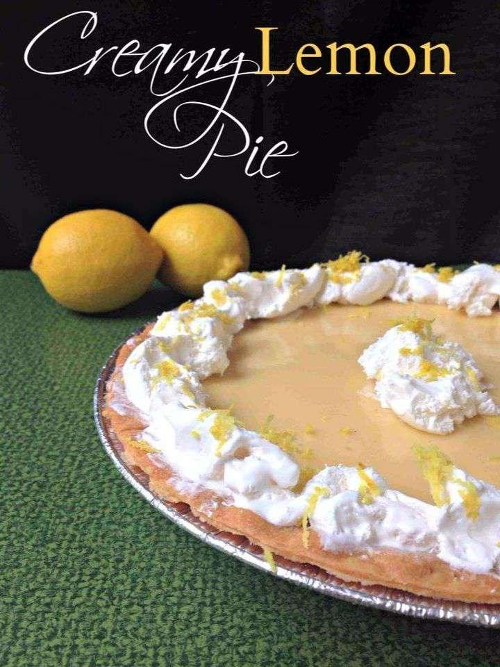 National Lemon Cream Pie Day Wishes Photos